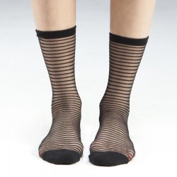 PENCIL STRIPE - 3 PAIR PACK